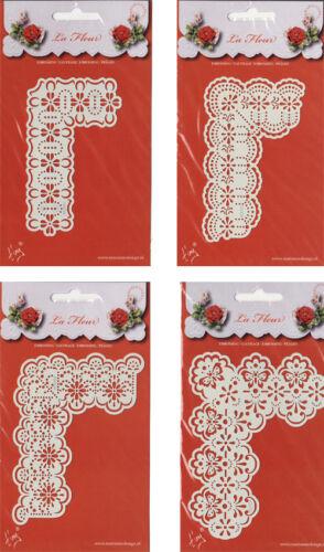 Embossingschablone Prägeschablone Schablone Marianne Design La Fleur