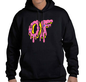 539ebdc5b09df2 Image is loading Odd-Future-Donuts-Melting-Unisex-Hoodie