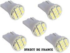 5 Ampoule T10 194 168 501 W5W 8 3020 SMD LED  ANTI ERREUR
