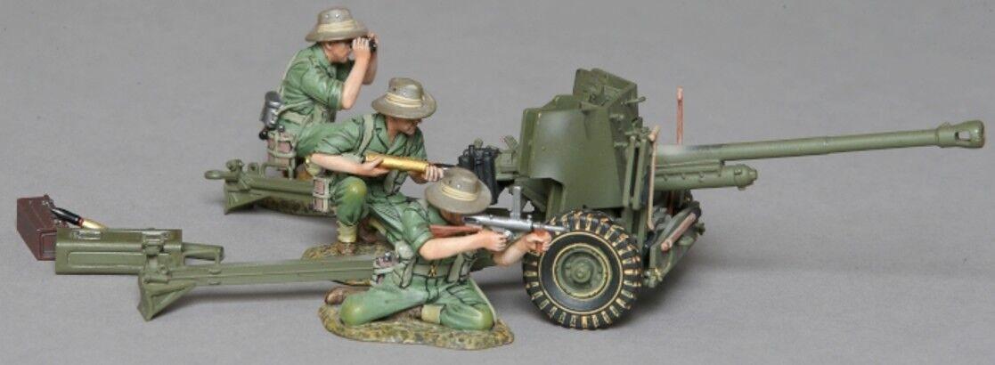 Thomas Gunn WW2 Pazifik Britisch Australischer 2.7kg kg Artillerie SET MiB