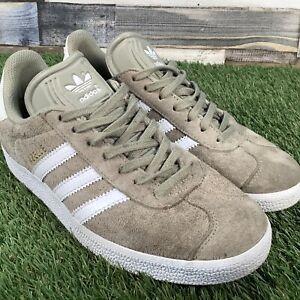 UK5-Womens-Adidas-Gazelle-Suede-Trainers-Retro-VTG-Style-Shoes-EU38