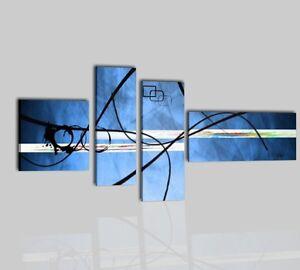 Quadro quadri moderni astratti dipinti a mano olio su tela for Quadri moderni astratti dipinti a mano