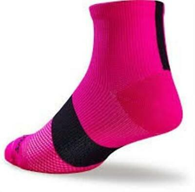 Specialized RBX Mid SockWomen/'sLight Grey//Neon PinkSize Medium//Large
