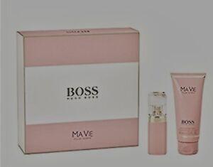 Hugo-Boss-Ma-Vie-Pour-Femme-Geschenk-Set-30ml-Eau-de-Parfum-100-ml-Bodylotion