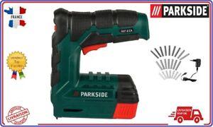 PARKSIDE-Agrafeuse-Cloueuse-pistolet-sans-fil-avec-2500-agrafes-et-clous