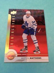 Auston-Matthews-Maple-Leafs-2017-2018-Upper-Deck-Shining-Stars-Red-SSC-1