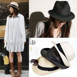 Unisex-Vintage-Style-Derby-Trilby-Jazz-Cap-Sun-Straw-Hat-hat010