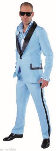 Discoteca vestito costume Uomo 50er 60er anni Hippie SMOKING Rock N Roll Party Costume
