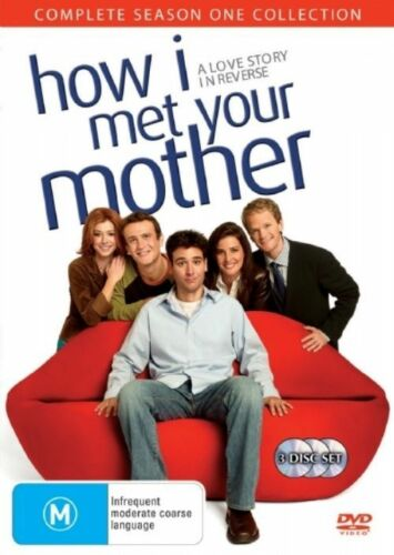 1 of 1 - How I Met Your Mother: Season 1 (DVD 3-Disc Set) Region 4 - New and Sealed