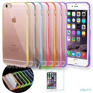 detailed look b9d17 1276b Details about Housing Cover Bumper HARD BACK Clear for Apple iPhone 6 5.5