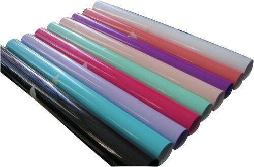 "15/"" x 12/"" each  9 COLORS kit SISER NEW Stretch COLORS Heat Transfer Vinyl"