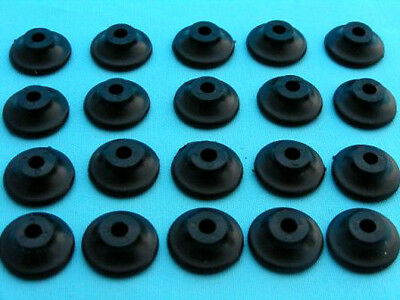 500 Button Lashing Cleats Bungee Trailer Cover Tie Down Plastic Rope Hooks Boat