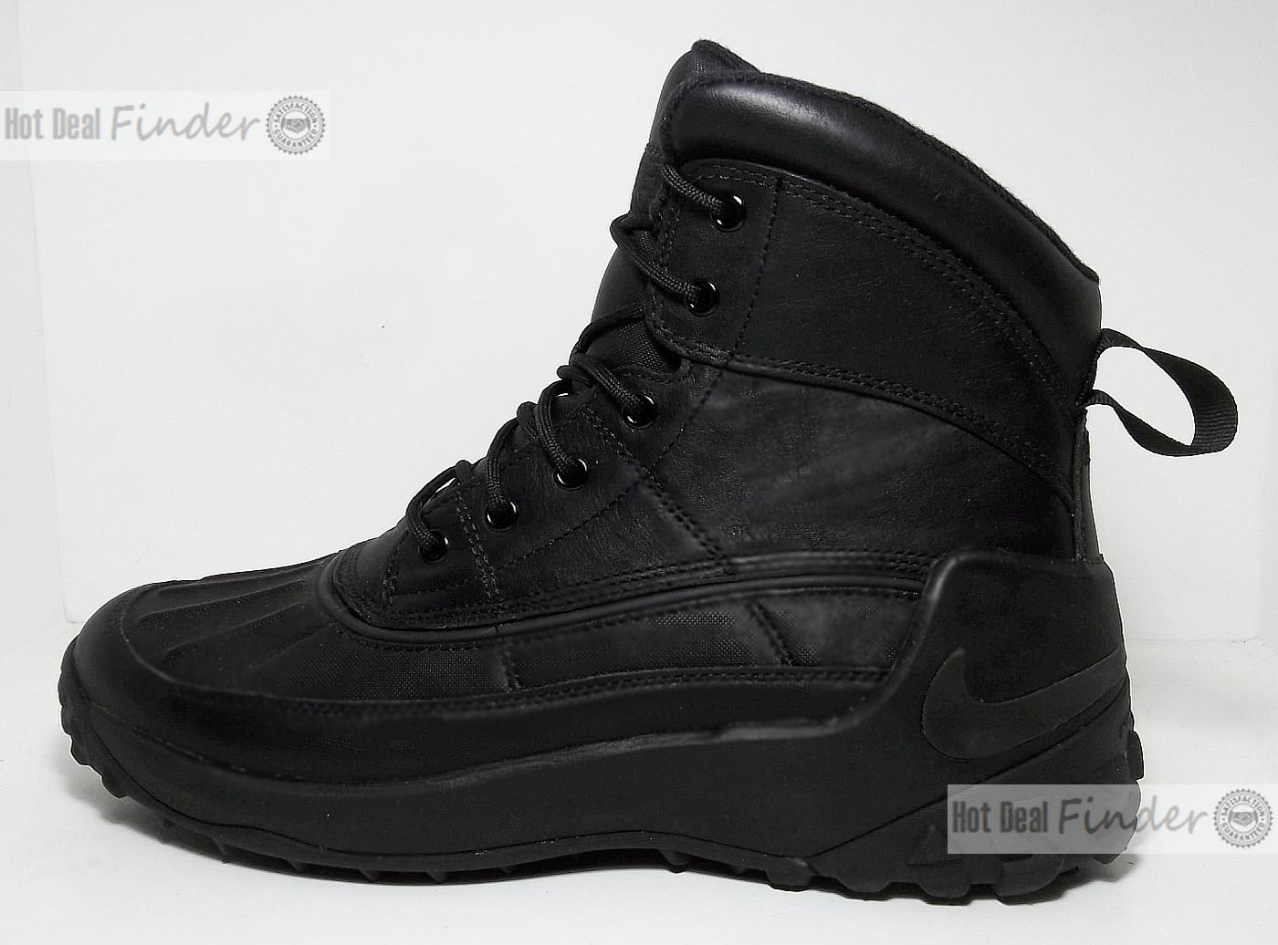 63ac76b4970 Nike Kynwood Mens Winter BOOTS Black Size 8.5 862504-001