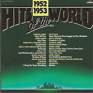 Hits-of-the-World-1952-53-Georgia-Gibbs-Eddie-Fisher-Patti-Page-Jim-Re-CD