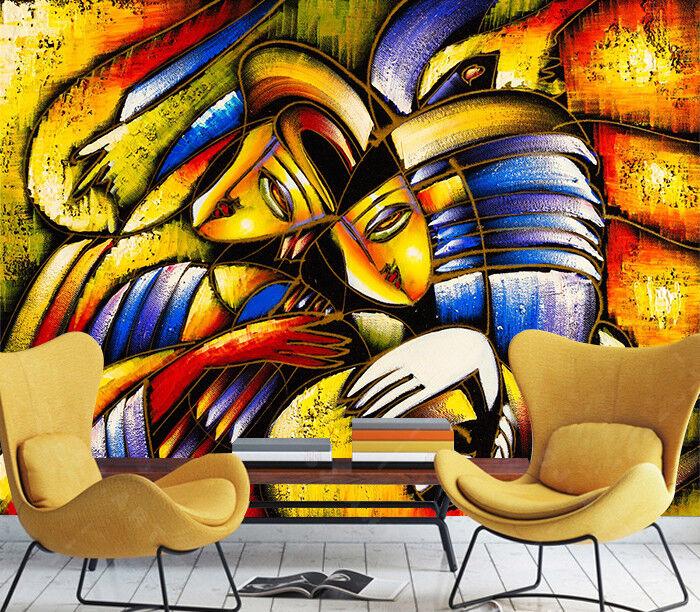 3D Abstrakte Graffiti 55 Tapete Tapeten Mauer Foto Familie Tapete Wandgemälde DE