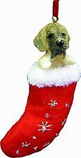 English Mastiff Santa's Little Pals Dog Christmas Ornament