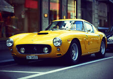 1959 FERRARI 250GT BERLINETTA NEW A3 CANVAS GICLEE ART PRINT POSTER FRAMED