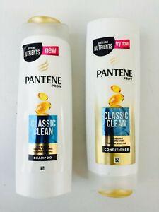 1-X-PANTENE-PRO-V-CLASSIC-CLEAN-HAIR-SHAMPOO-CONDITIONER-400ML-NORMAL-HAIR