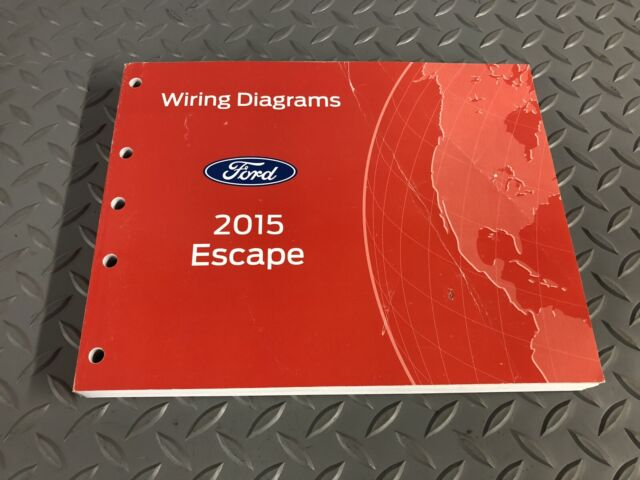 Factory 2015 Ford Escape Electrical Wiring Diagrams Ewd