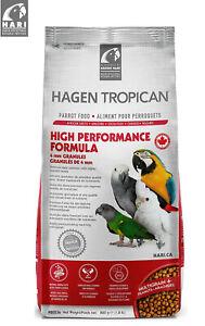 HAGEN TROPICAN HARI HIGH PERFORMANCE COMPLETE FORMULA PARROT PELLET FOOD 820G