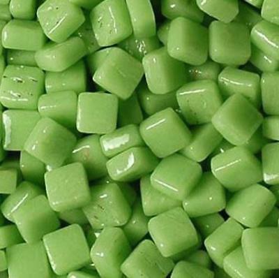 Glass Micro Mosaic Craft Tile - Mint Green