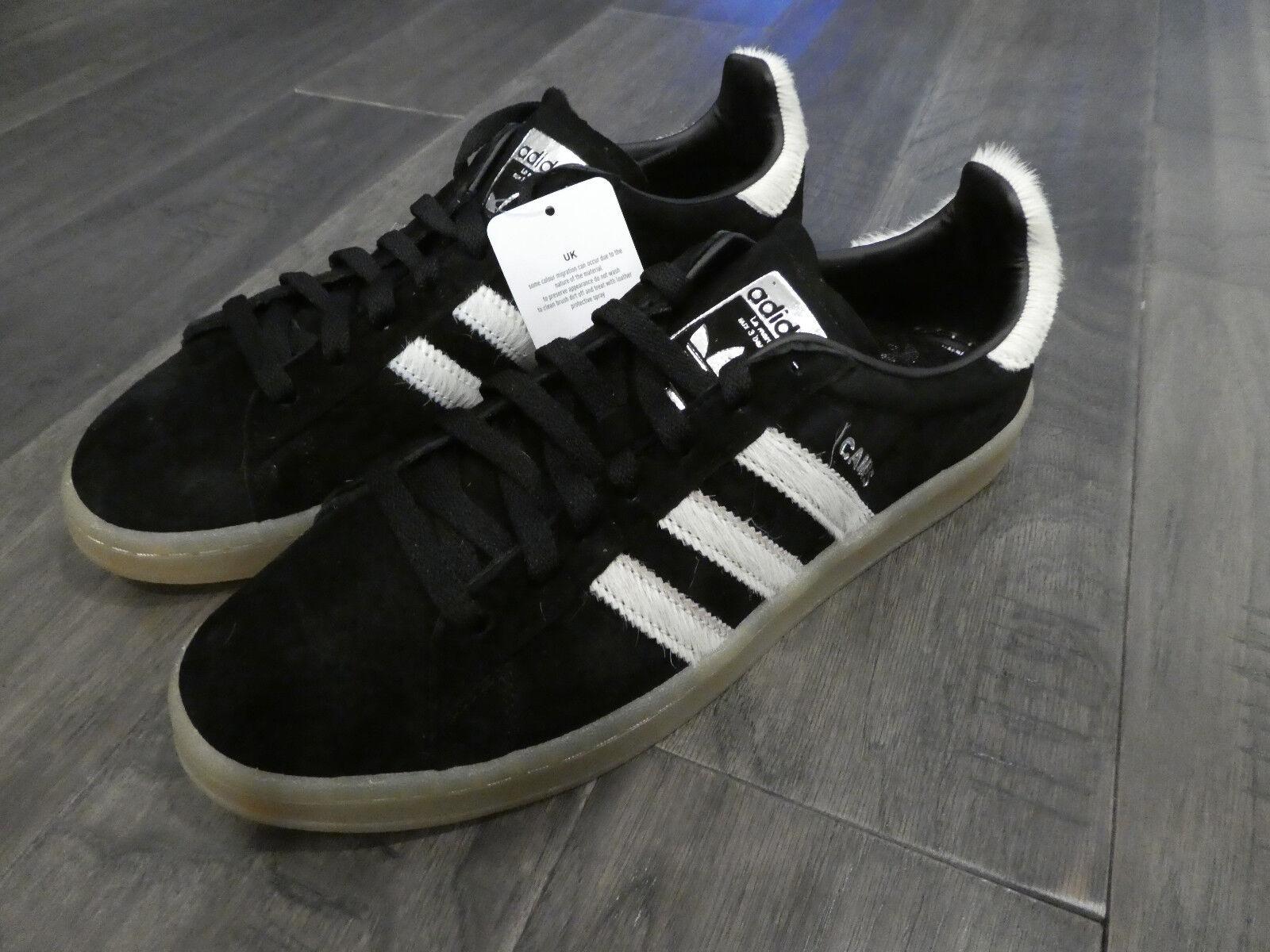 Adidas Campus Uomo shoes scarpe da ginnastica new BZ0071 Brown Gum White suede calf