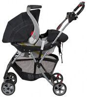 Infant Car Seat Carrier, Frame Stroller Travel Snap N Go Universal Carriage