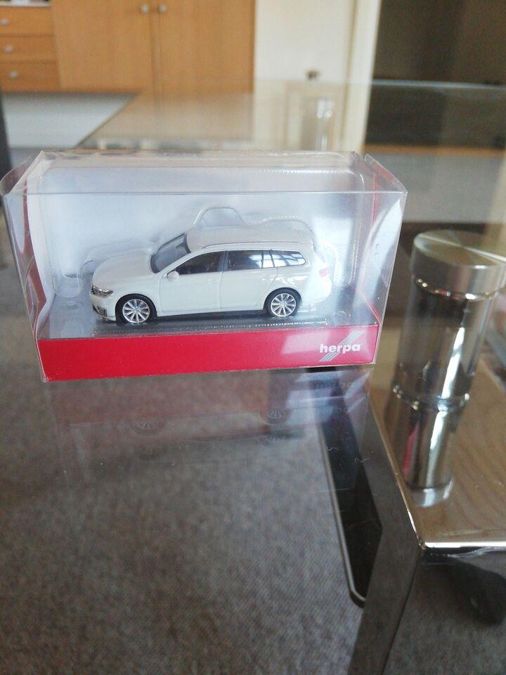 Modelbil, Herpa Passat GTE, skala 1/87
