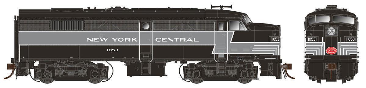 Pista h0-diesellok Alco fa-2 New York Central -- 21043 nuevo