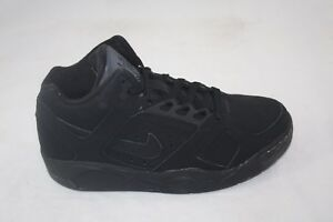 NIKE-AIR-FLIGHT-LITE-LOW-318644-001-BLACK-BLACK-SIZE-8-MSRP-100-00