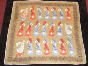 TAMMIS-KEEFE-MastHeads-Vintage-Handkerchief-Hanky-Han