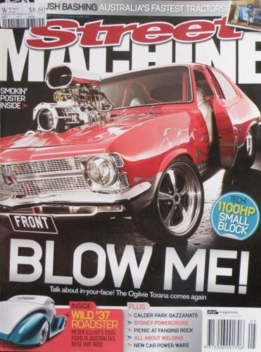 Street Machines Magazine May 2008 The Ogilvie Torana Comes Again