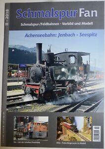 II-2018-Schmalspur-Fan-Chemins-de-Fer-Champ-Modele-Jenbach-Seespitz