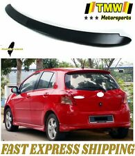 Unpainted Sport Trunk Spoiler Fit For Toyota Yaris 2nd Xp90 Hatchback Le S 06 11 Fits Toyota Yaris