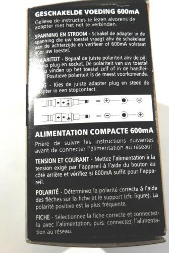 Alimentation a decoupage 100//240Vac 3-12V 600mA                          ALD3127