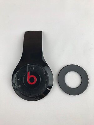 Beats By Dr Dre Studio 2 2 0 Wireless Wired Right Outside Panel Oem Black Red Ebay