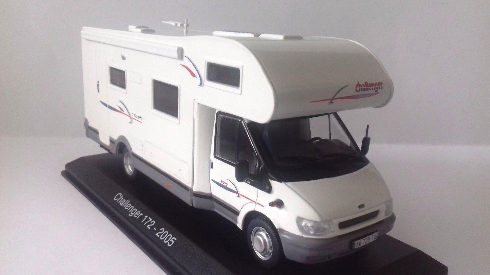 533 Caravan Camper Ford Transit Challanger 172 (2005) - DIE CAST 1:43