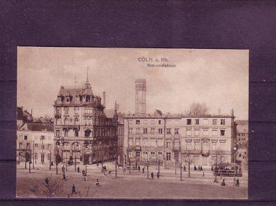 Nicht Frankierte Ansichtskarte Köln Richmodishaus Mangelware europa:11452