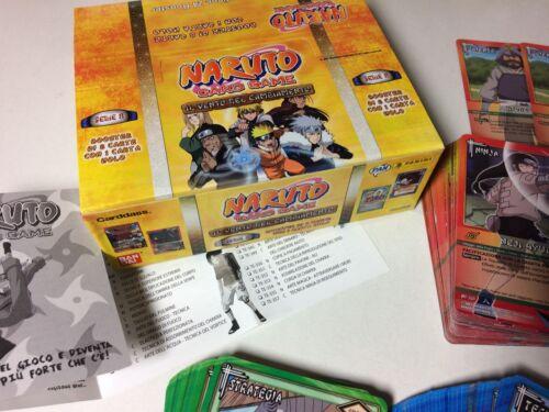 NARUTO 8th Edition -Panini- Card Game - GAARA DEL DESERTO NINJA NI-339 N