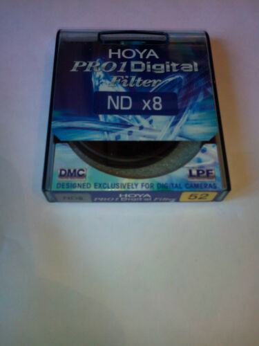 HOYA PRO1 DIGITAL FILTER FILTRE ND x 8 52 mm