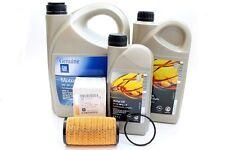 Opel GM 5W30 Dexos 2 Longlife Motoröl 8 Liter + Original Ölfilter 4431215 NEU