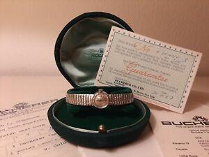 Orologio Rolex Orchid FULL SET NO RESERVE Donna Vintage Oro Bianco 18kt 1967