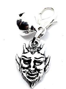 Metal-Devil-Charm-for-Cat-Dog-Pet-Collar-Purse-Bracelet-Clip-Silver-Bell-Witch