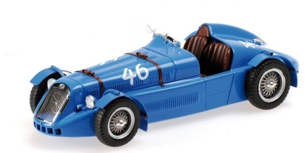 Delage D6-3l Grand Prix 1946 1 43 Model MINICHAMPS
