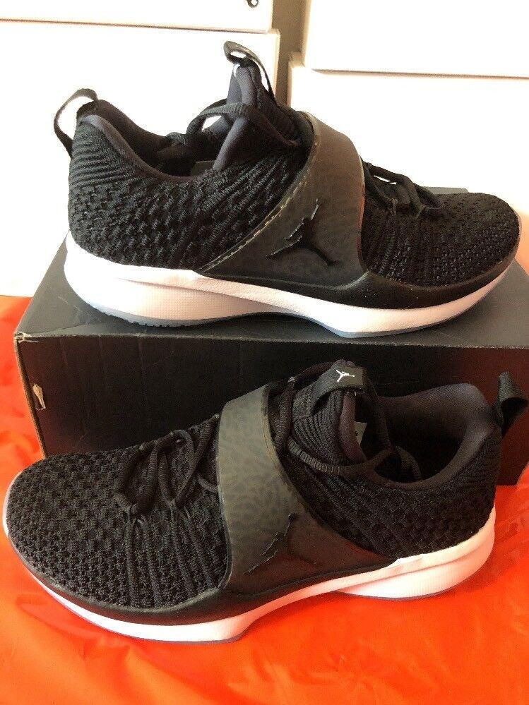 Mens Jordan Trainer 2 Flyknit 921210-010 Black Black Brand New Size 8