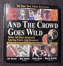 1999 AND THE CROWD GOES WILD Hardcover VF+ w/ 2 CD's Sporting Events