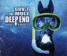 Gov't Mule DEEP END VOLUMES 1 & 2 + HIDDEN TREASURES New Sealed 3 CD