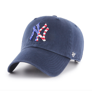 47 Brand Adjustable Cap Clean UP New York Yankees Khaki