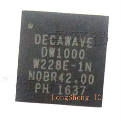 1PCS DW1000 indoor positioning chip high precision QFN48 new