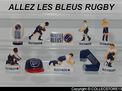 SERIE COMPLETE DE FEVES  LE RUGBY